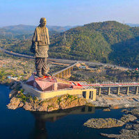 Statue Of Unity | The World's Tallest Statue, 182 Metres