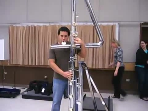 Jose Valentino Beatboxing on Double contrabass flute ...  Double Contrabass Flute Case