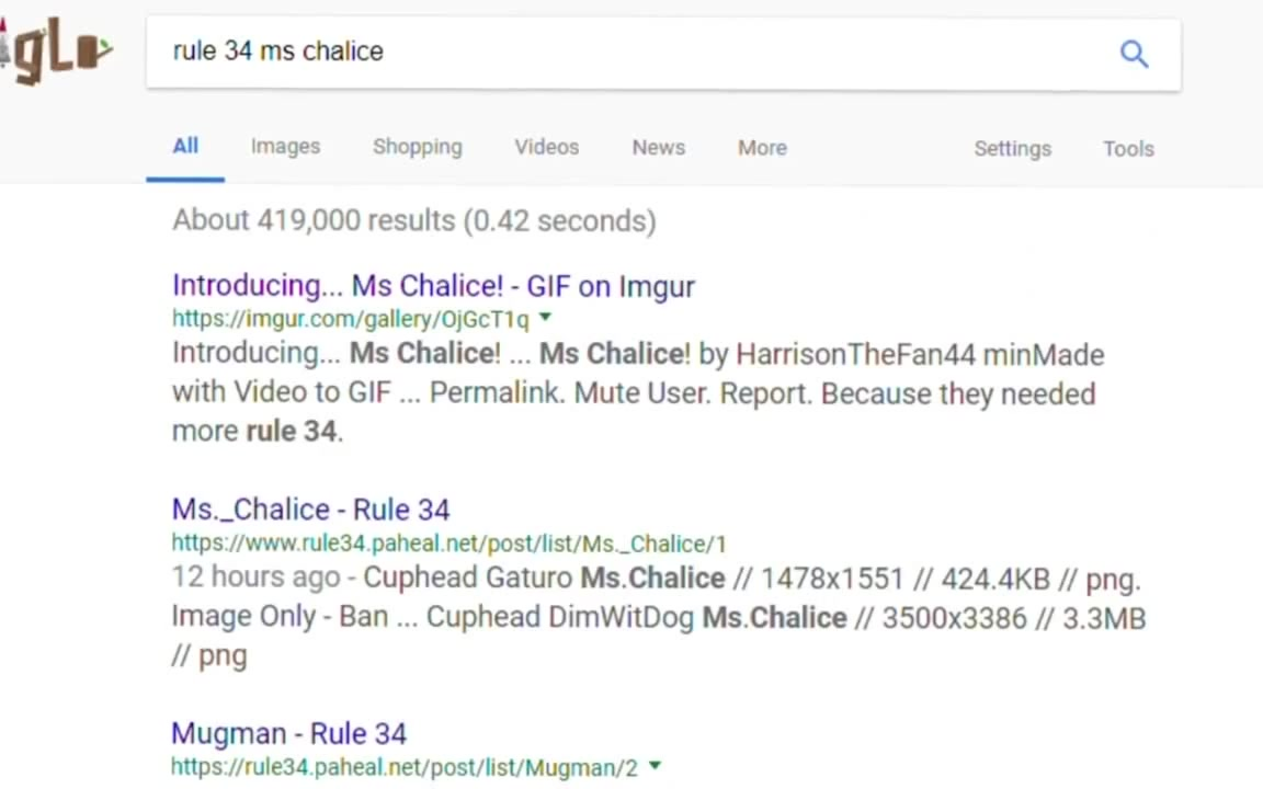 Ms. Chalice Rule 34