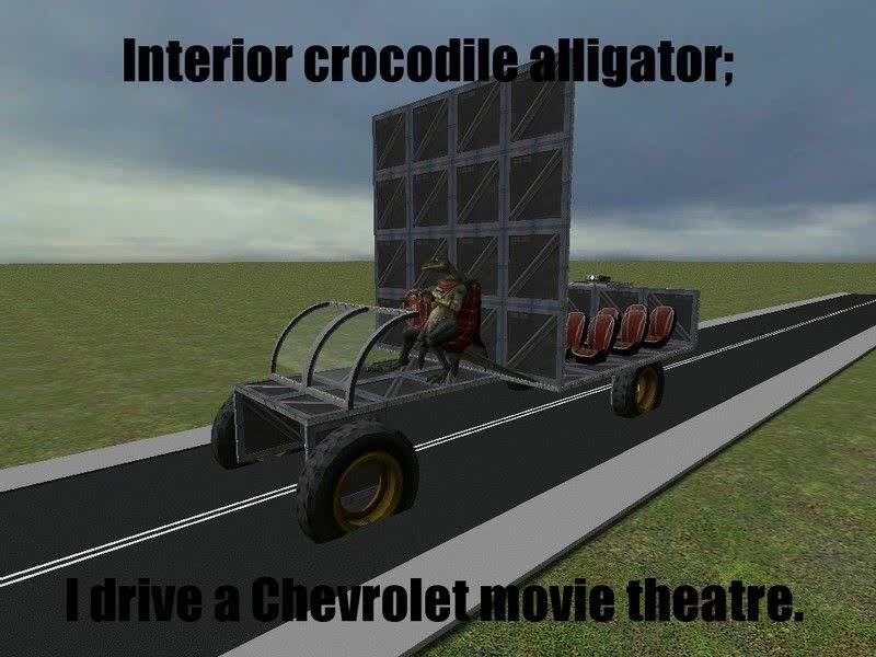 Interior Crocodile Alligator I Drive A Chevrolet Movie Theater Coub The Biggest Video Meme Platform