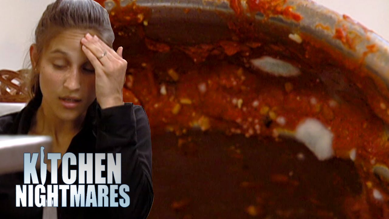 Waitress Confuses Mold With Basil Kitchen Nightmares Coub The Biggest Video Meme Platform